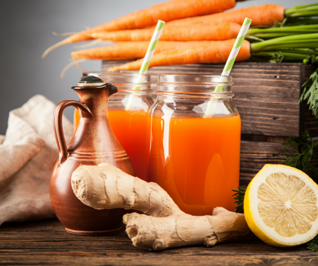 Green Juicing - Ginger Carrot Juice
