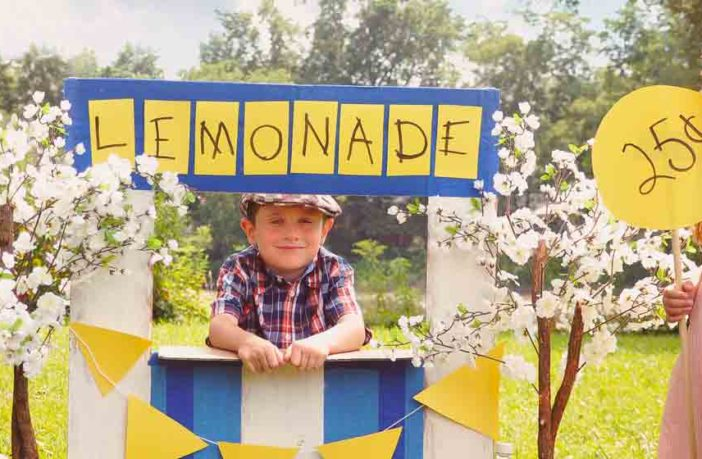 Your kids and lemonade stands