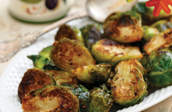 Countdown To Thanksgiving: Roasted Brussels Sprouts