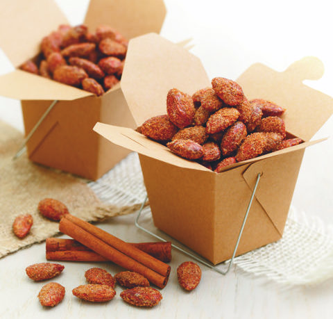 Cinnamon Roasted Carnival Almonds