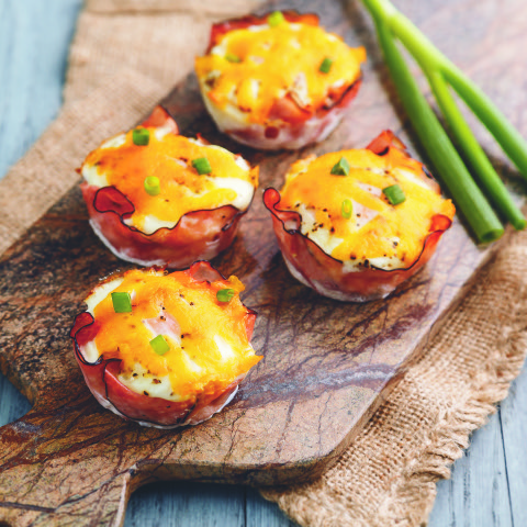 A Healthy Start to 2019: Baked Ham & Egg Cups