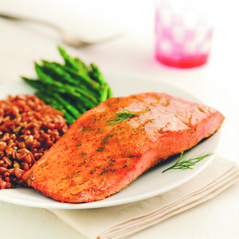 A Healthy Start to 2019: Honey Mustard Salmon