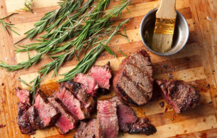 Valentine's Day Rosemary Roasted Beef Tenderloin