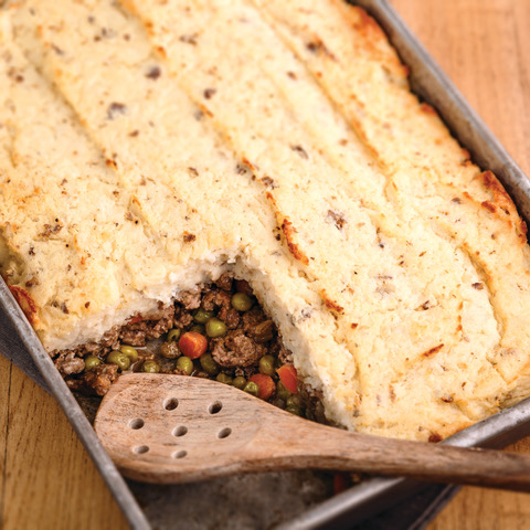Keep The Luck Going: Healthy Shepherd's Pie